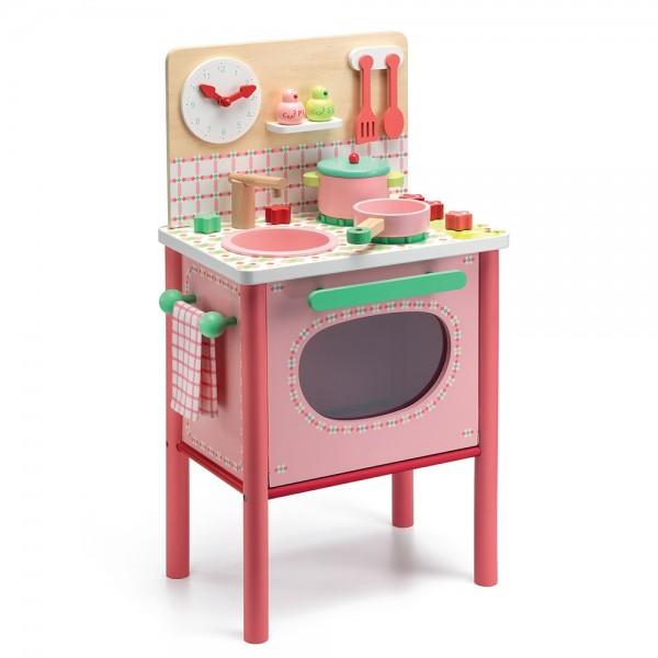 ξυλινη παιδικη κουζινα djeco, koyzinew gia koritsia, ξυλινες κουζινες παιχνιδια,