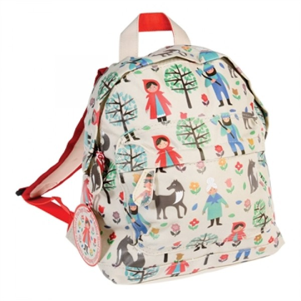 Backpack for kid - Red Riding Hood, backpack for school, Backpack - La petit rose, backpack, kids, bags for kids, accessories, eco friendly kid backpack, eco kid accessories, backpacks for toddlers, backpacks for kids, time for school, backpack for presch