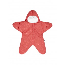 Baby Bites Sleeping Bag Star - Coral