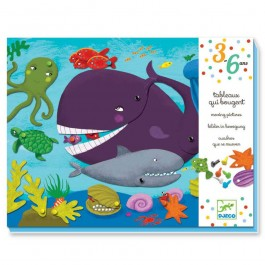 Djeco  Δημιουργώ κινούμενη εικόνα με κλιπ «Φάλαινα»