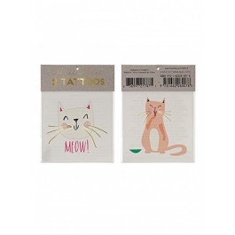 Meri Meri Kids Tattoo - Cats