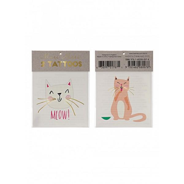 Meri Meri Kids Tattoo - Cats