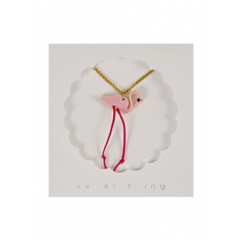 Meri Meri Necklace - Flamingo