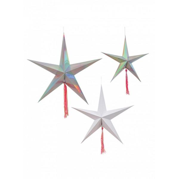 Meri Meri decorated stars