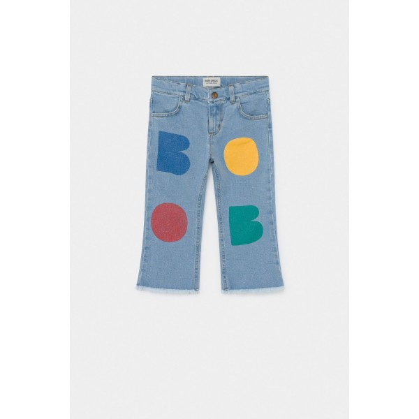 Bobo Choses Multicolor Bobo Flared Denim