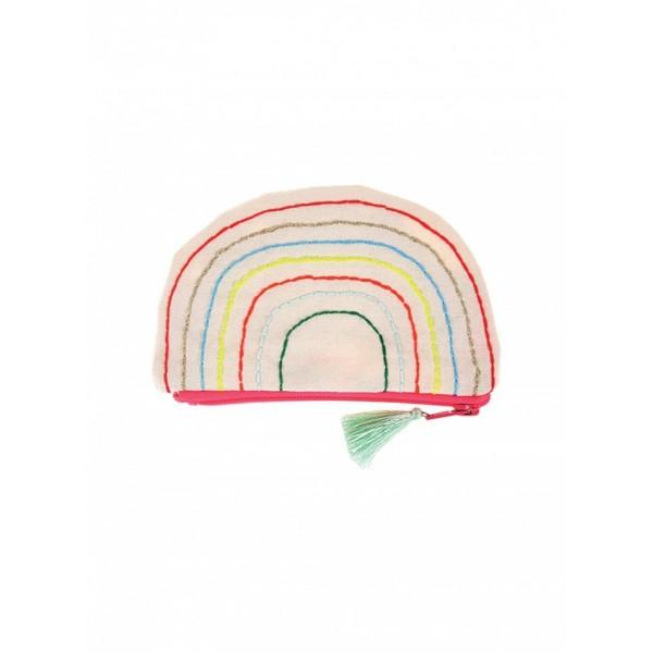 Meri Meri Organic Purse - Rainbow