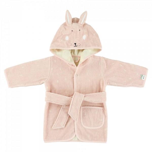 Παιδικό Μπορνούζι 100% οργανικό βαμβάκι - Mrs Rabbit ΚΟΡΙΤΣΙ