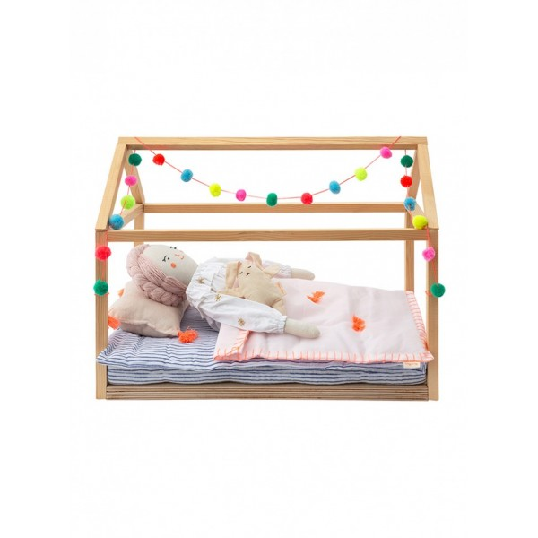 Wooden Bed Dolly Accessory, meri meri