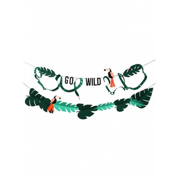 Meri Meri Garland - Go Wild
