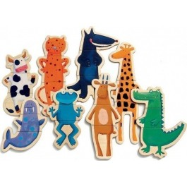 Djeco magnetic - Crazy Animals, toys for kids, kids toys, djeco toys for kids, wooden toys