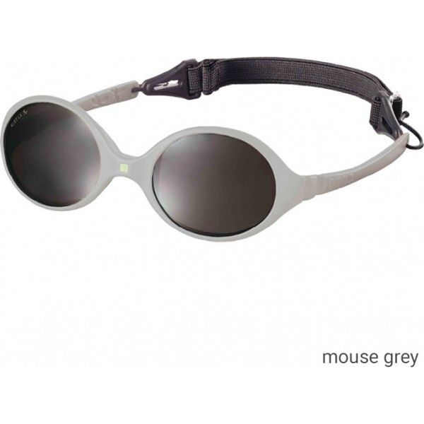 KiETLA Baby sun shades 0-18 months - Diabolo Mouse Grey, babies sun glasses, eco friendly, kietla, eco friendly sunglasses,
