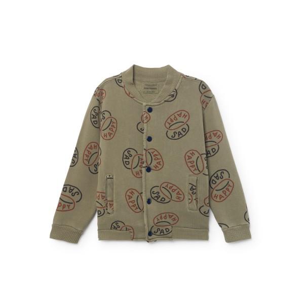 Bobo Choses Buttons Sweatshirt -  Happy Sad, cow makes moo, organic kids wear, organic clothes for babies, organic clothes for kids, bobo choses, eco friendly kids wear, stylish kids wear, cow makes moo