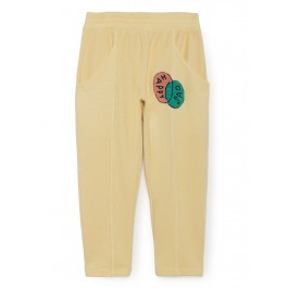 Bobo Choses Organic Trouser - Happy Sad, the meet market, organic kids clothes, nadadelazos, bobo choses, kids clothes, clothes for babies, cow makes moo