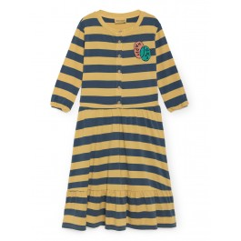 bobo choses Organic Dress - Happy Sad, bobo choses greece, bobo wear bobo kids wear, organic kids wear, organic kids clothes, clothes for boys, clothes for girls baby,