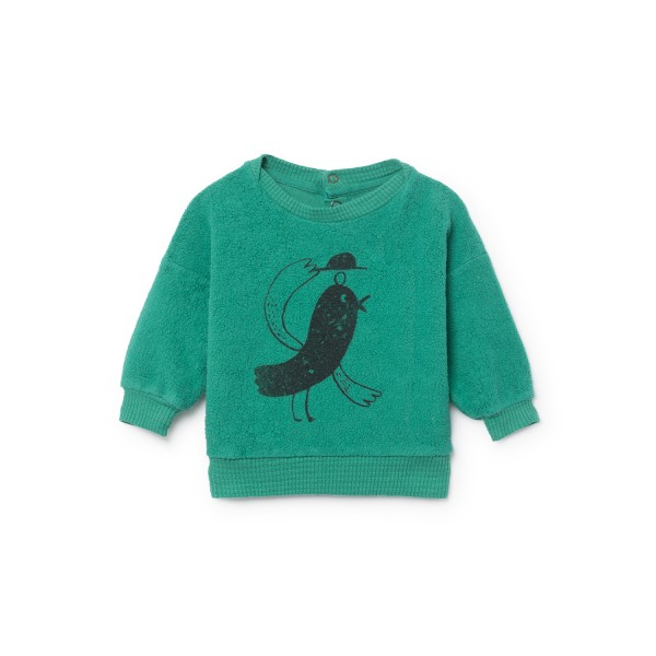 Bobo Choses Fleece Sweatshirt - Bird Sheep