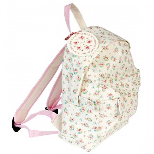 Backpack - La petit rose, backpack, kids, bags for kids, accessories, eco friendly kid backpack, eco kid accessories, backpacks for toddlers, backpacks for kids, time for school, school accessories,
