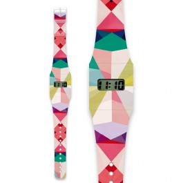 Pappwatch kids - Geometrical, kids, kids store, watch for kids, girls, boys, yapper watches, yapper watches, i like paper, kids watch, eco friendly,