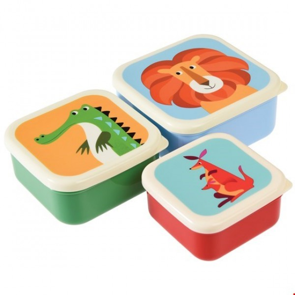 Snack Boxes Set of Three - Colorful Creators