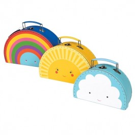 Cases Set of three - Weather, kids accessories, accessories for room, kids room, cases, ecofriendly kids accessories,