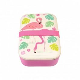 Bamboo Lunch Box - Flamingo Bay