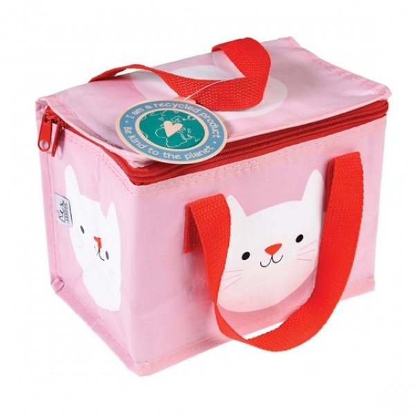 Eco Friendly Insulated Lunch bag - Cookie the Cat