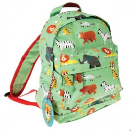 Backpack - Animal Park ,  kids accessories, Backpack - La petit rose, backpack, kids, bags for kids, accessories, eco friendly kid backpack, eco kid accessories, backpacks for toddlers, backpacks for kids, time for school,