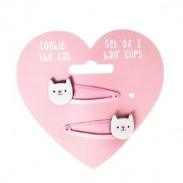 Τσιμπιδάκια για τα μαλλιά - Cookie the Cat