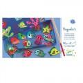 Djeco Game  Magnetics - Fishing