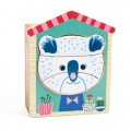 Djeco wooden puzzle - Animals Faces