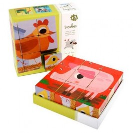 Djeco Educational wooden games Cot cot and cie