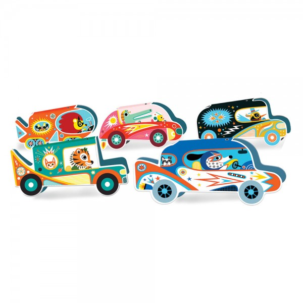 Djeco Paper Cars
