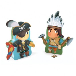 Djeco Magnetic game - Indians