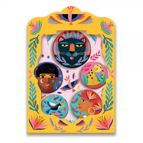 Djeco Lovely Badges - Nature