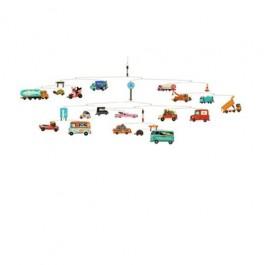 djeco Μόμπιλε - Οχήματα, παιδικα μομπιλε, διακοσμηση παιδικου δωματιου, βρεφικο δωματιο, διακοσμηση βρεφικου δωματιου,