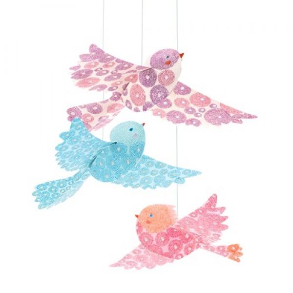 Djeco Decorated Mobile - Birds