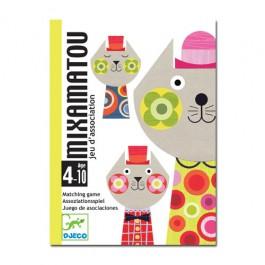Djeco Επιτραπέζιο με κάρτες - Mixamatou, cow makes moo, παιχνιδια ταξιδιου, παιχνιδια παρατηρητικότητας, ποιοτικα παιχνιδια,