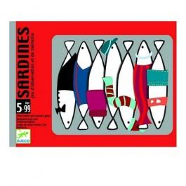 Djeco Επιτραπέζιο με κάρτες - Ψαράκια