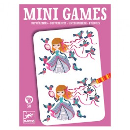 Djeco Mini games Differences by Remi