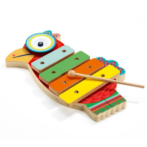 Djeco Animambo Cymbal and xylophone