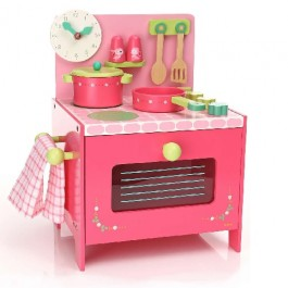 Wooden Kitchen Djeco - Lily's Rose