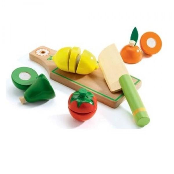 Djeco Σετ λαχανικά και φρούτα