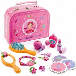 Djeco Βαλιτσάκι ομορφιάς, ξυλινα παιχνιδια για παιδια, cow makes moo, χριστουγεννιατικα δωρα για παιδια, djeco paixnidia, δωρα για κοριτσια, δωρα για παιδια, παιδικα αξεσουαρ, τουαλετα ομορφιας, π