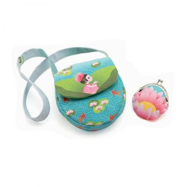 Djeco Role plays Miss waterlily bag and purse