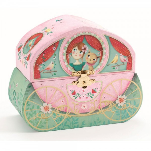 Djeco Music box cases Carriage ride