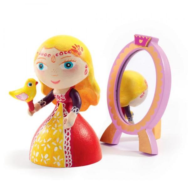 Djeco Φιγούρα πριγκίπισσας 'Nina' με καθρέφτη ΕΚΠΑΙΔΕΥΤΙΚΑ ΠΑΙΧΝΙΔΙΑ