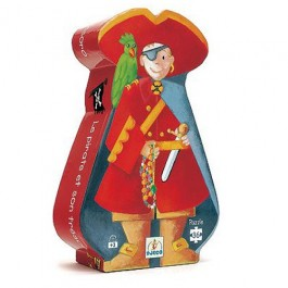 djeco Puzzle - Pirate, djeco toys, kids, playing with kids, kids store, creative time, puzzle djeco, djeco