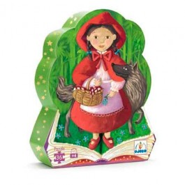 djeco Puzzle - Red Ridding Hood, djeco toys, djeco puzzles, puzzle for kids, my first puzzles,