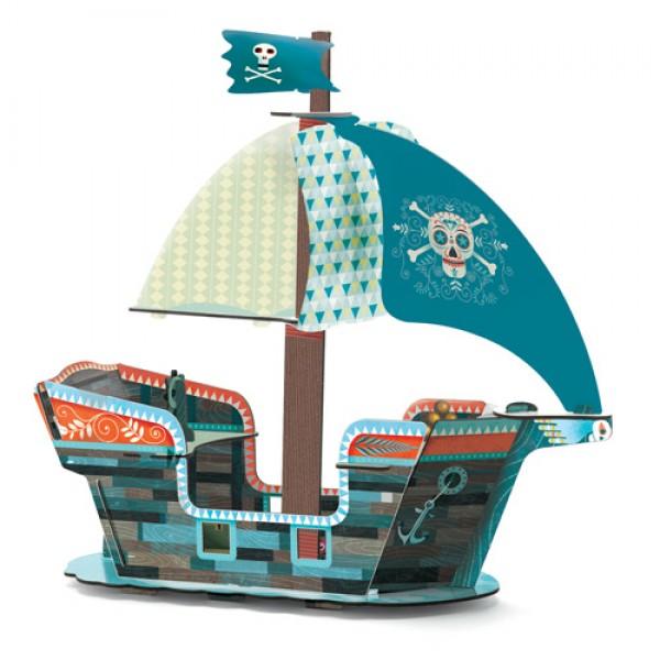 Djeco Paper Boat - Pirate