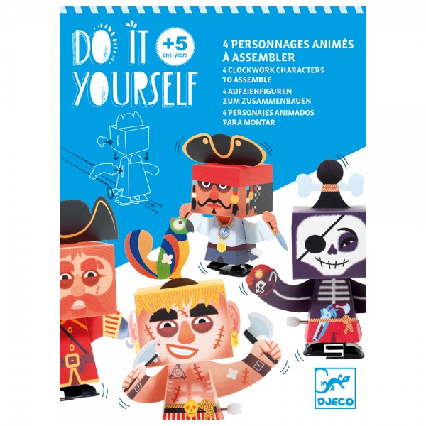 Design Do it yourself - Clockwork characters Up and at'em!