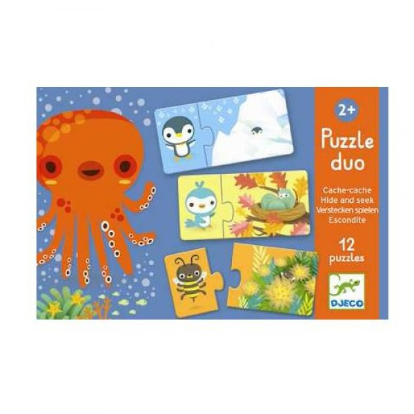 """Puzzle Duo """"Hide and seek"""""""
